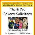 Thank You from Chernobyl Children's Project (UK)